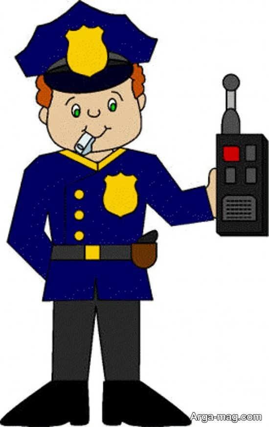 زیباترین طراحی پلیس