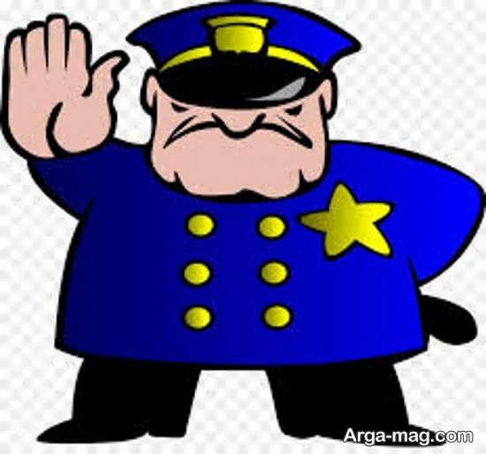 طراحی پلیس درجه دار