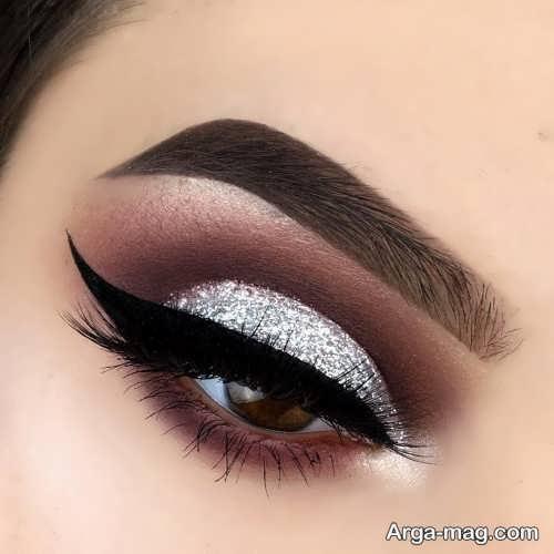 مدل آرایش چشم زیبا و شیک