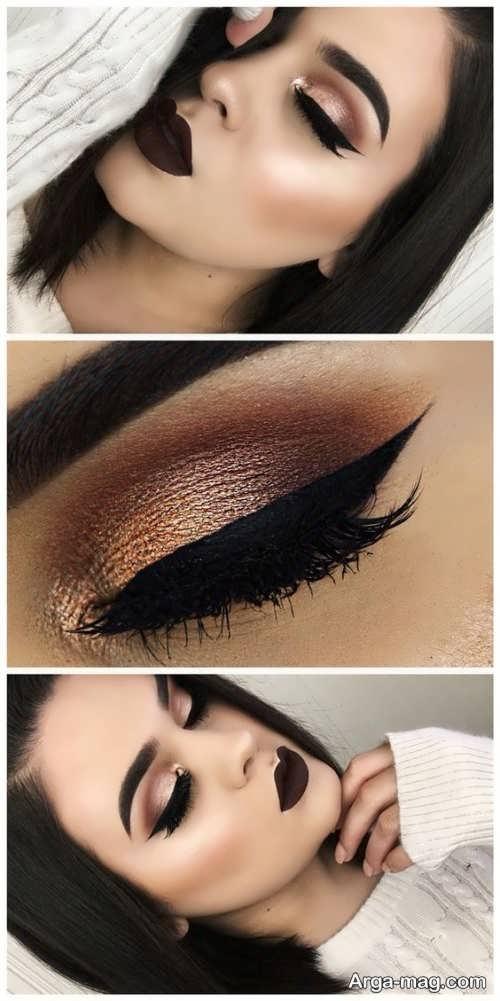 مدل زیبا و جذاب آرایش چشم
