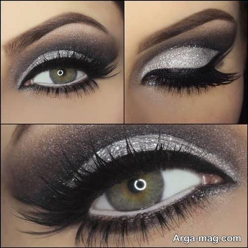 مدل میکاپ چشم زنانه