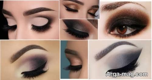 انواع مدل آرایش حرفه ای چشم