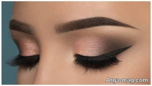 مدل آرایش چشم جذاب و زیبا