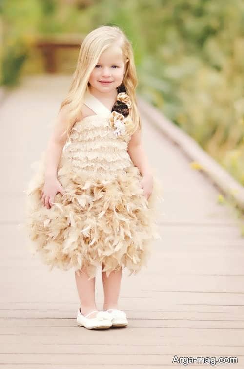 مدل لباس مجلسی عروسکی و پرنسس