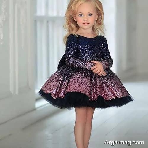 مدل پیراهن مجلسی عروسکی