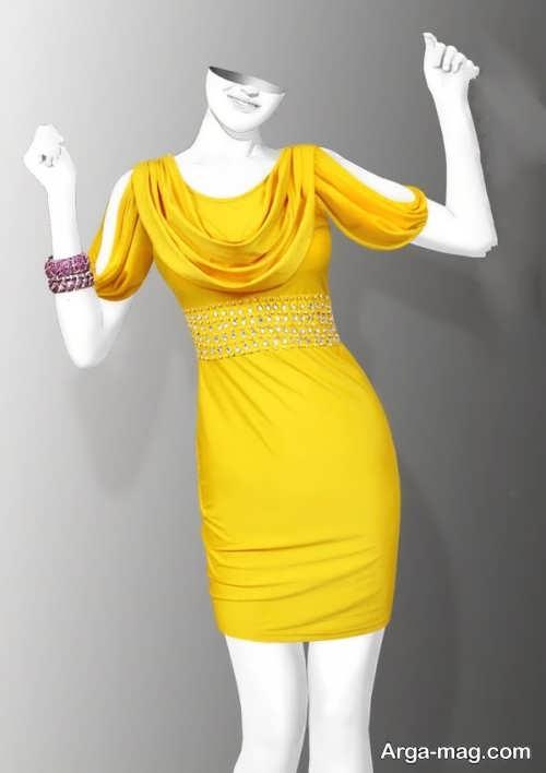مدل سارافون زرد ریون