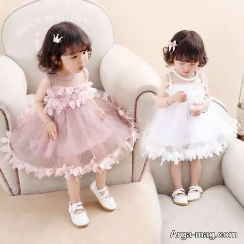 مدل لباس حریر بچه گانه زیبا و جذاب