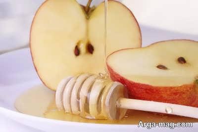 ماسک عسل و سیب
