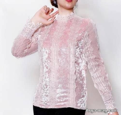 مدل زیبای لباس مخمل