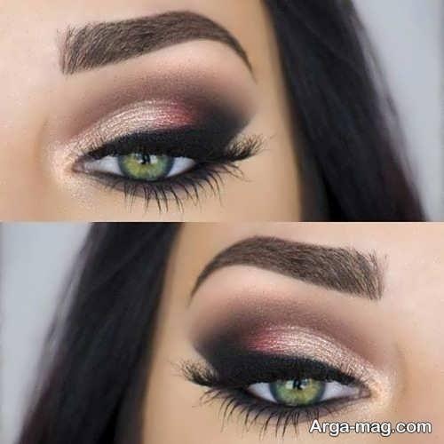 مدل زیبا و جذاب میکاپ چشم زنانه