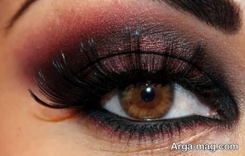 مدل آرایش چشم زنانه شیک و جدید
