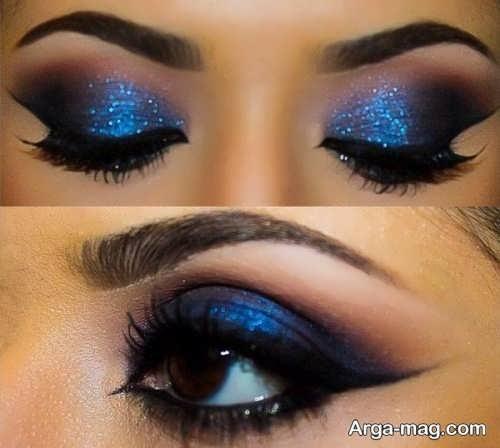 مدل آرایش شیک و جذاب چشم زنانه