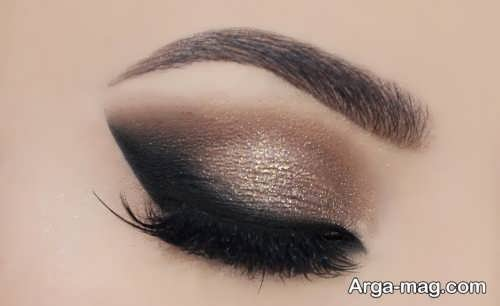 مدل آرایش چشم شیک زنانه