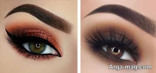 مدل آرایش چشم زنانه شیک و جذاب