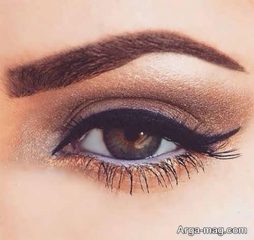 مدل آرایش زیبا چشم زنانه
