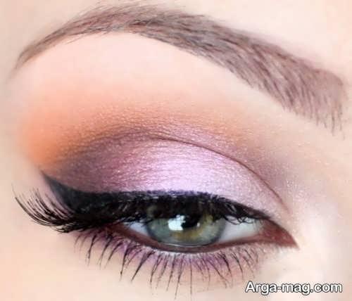 مدل آرایش جذاب چشم زنانه