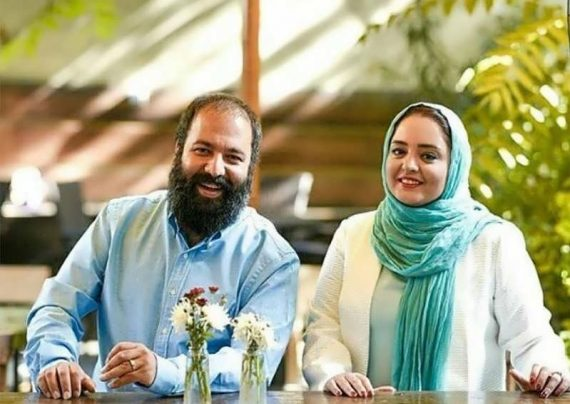 عکس جدید علی اوجی و همسرش
