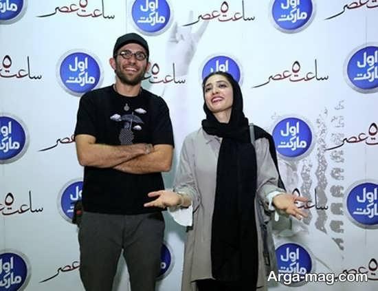 عکس جدید مینا ساداتی و بابک حمیدیان