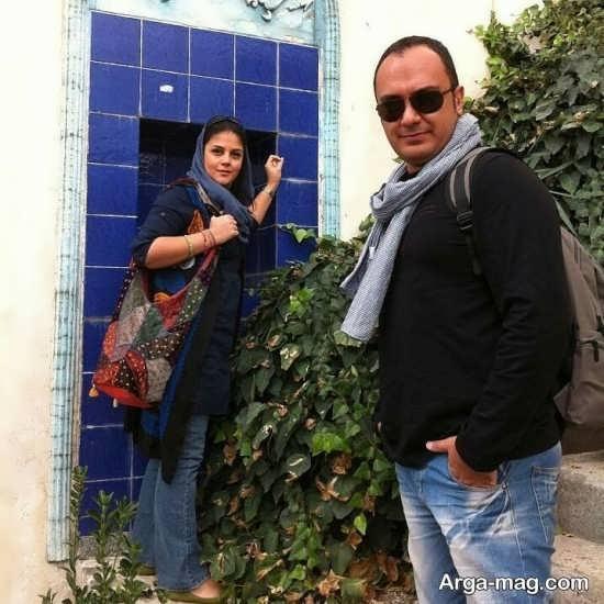 عکس جدید احسان کرمی و همسرش