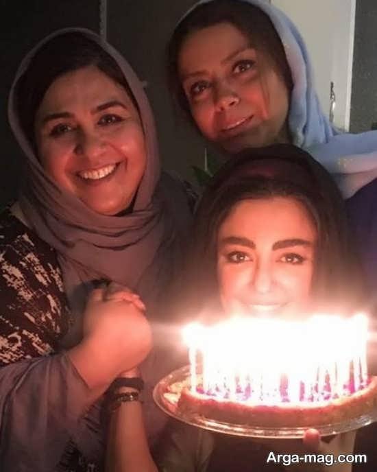 جشن تولد شقایق فراهانی