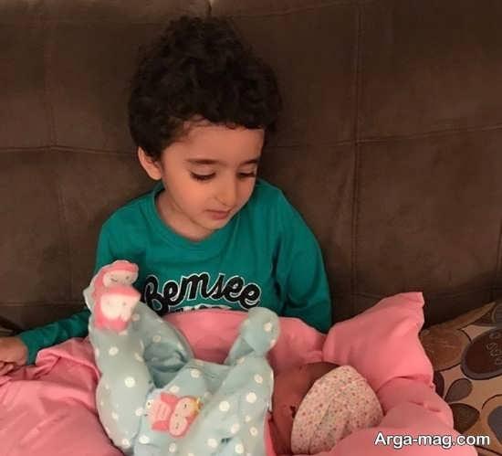 تصاویر شیلا خداداد با دو فرزندش