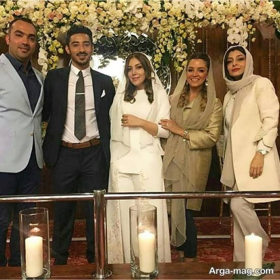 عروسی رضا قوچان نژاد و سروین بیات در هلند برگزار شد