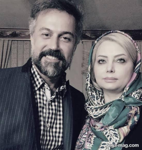 آقای بازیگر به همراه همسر، پسر و دخترش