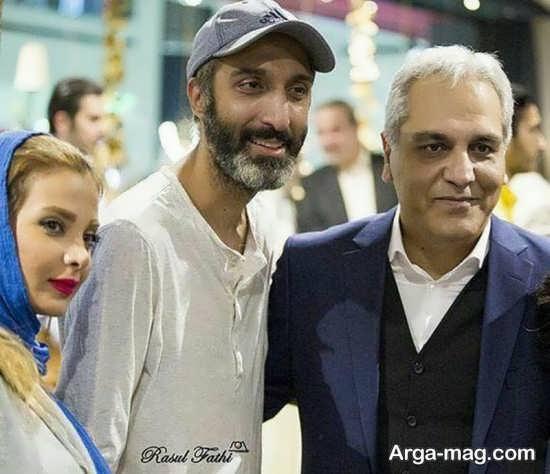 عکس جدید امیرمهدی ژوله و همسرش
