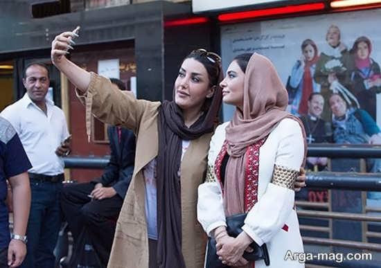 لیندا کیانی در اکران مردمی فیلم سینمایی اکسیدان