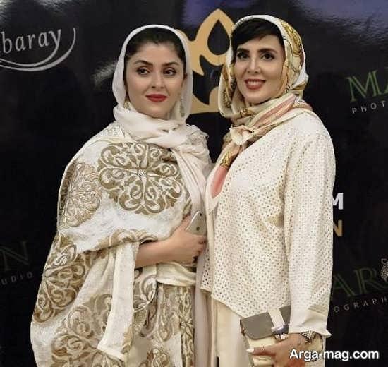 لیلا بلوکات، الناز حبیبی و الهام حمیدی در افتتاحیه سالن زیبایی