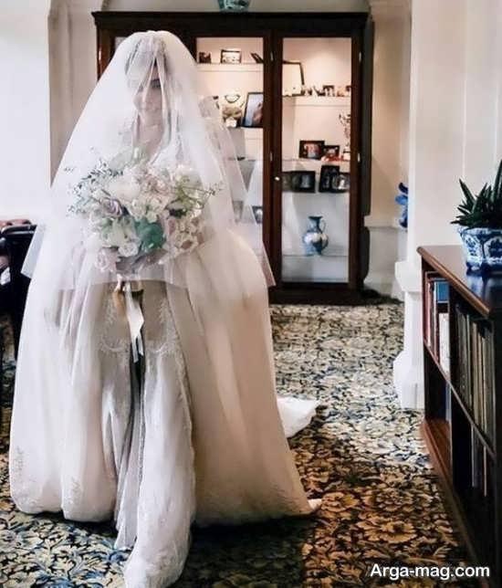مدل لباس عروس سروین بیات