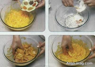 طرز تهیه بال سوخاری