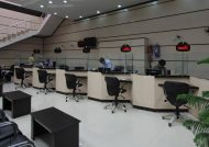 طراحی داخلی شعب بانک