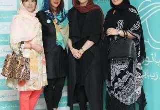 بازیگران زن در مزون لباس