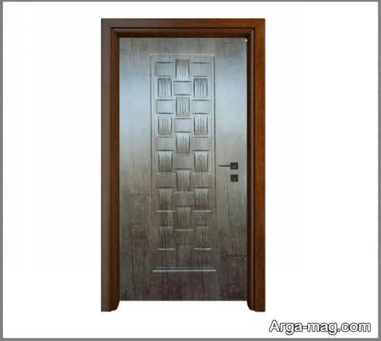 درب اتاق خواب ملامینه مدرن