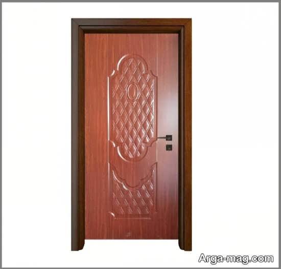 درب اتاق خواب ملامینه خوش رنگ