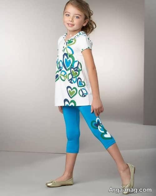مدل لباس راحتی بچه گانه دخترانه