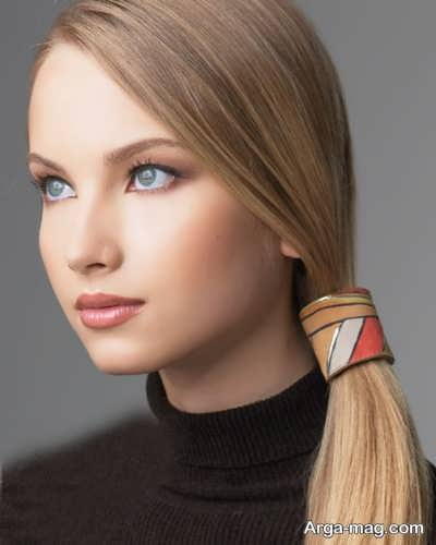 رنگ موی تیره کنفی عروسکی