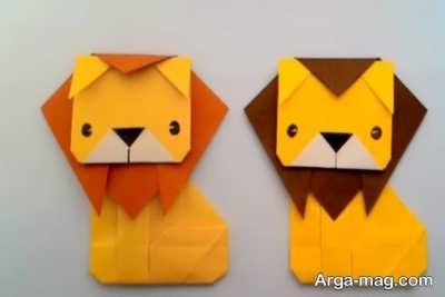 خلاقیت ساخت شیر جنگل