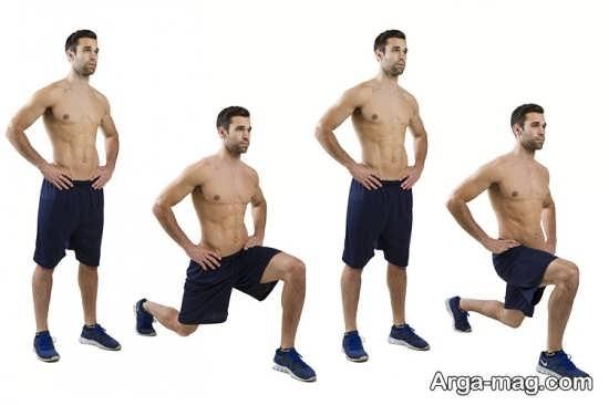 کوچک کردن ران پا با ورزش برای لاغری ران پا