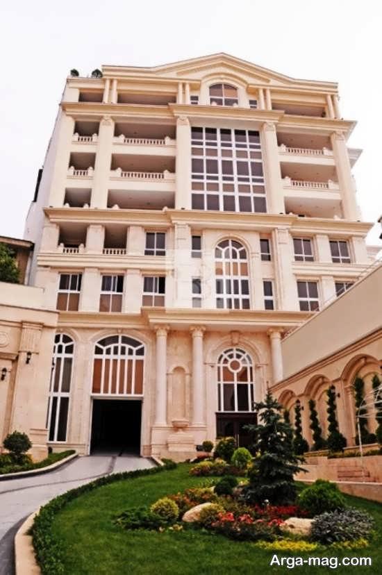 قشنگ ترین نمای کلاسیک ساختمان ها