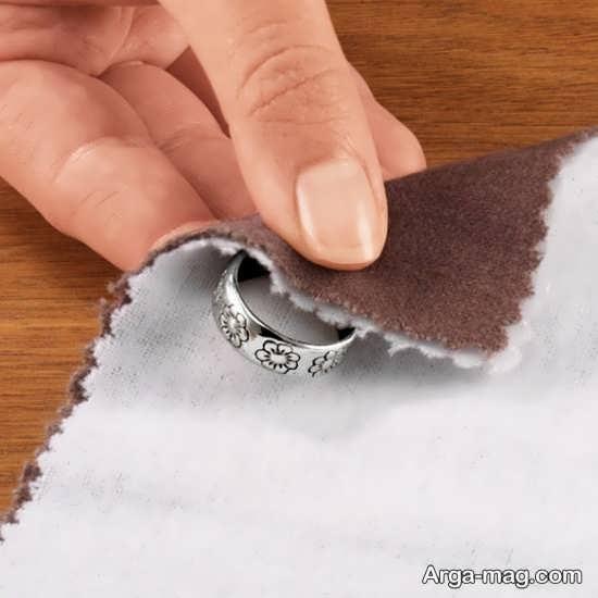 آیا آبلیمو خاصیت پاک کنندگی انگشتر نقره را دارد؟