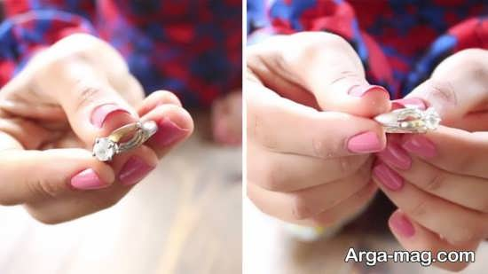 راه حل های تمیز کردن انگشتر نقره