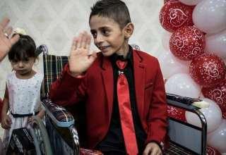 عکس صالح داماد 7 ساله