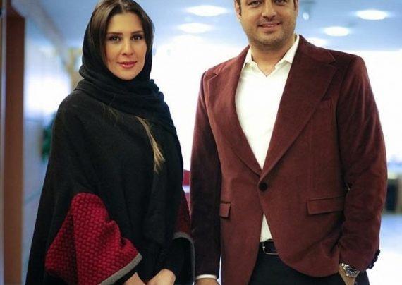 عکس جدی دسام درخشانی و همسرش