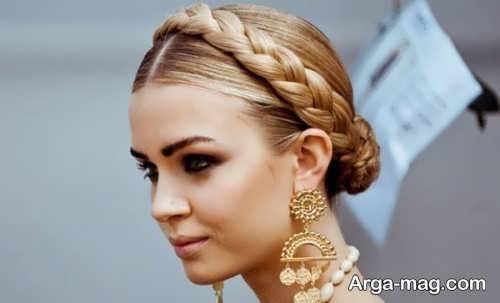 مدل موی ساده برای عروسی