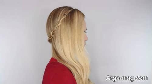 مدل موی ساده برای عروسی و مهمانی