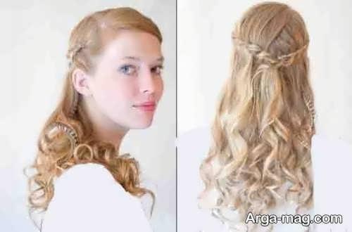 مدل موی فر باز برای عروسی