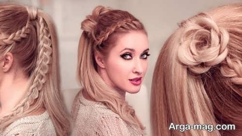 مدل موی مجلسی زیبا و جذاب