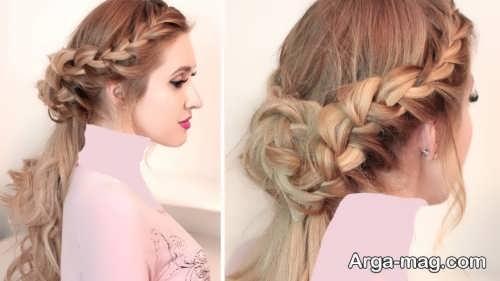 مدل موی بسته برای عروسی